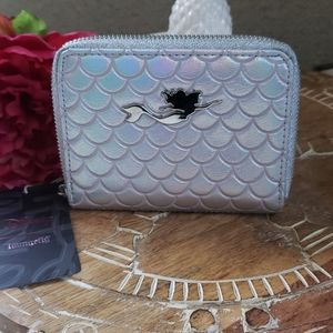 NWT Disney Loungefly Mermaid holographic Wallet